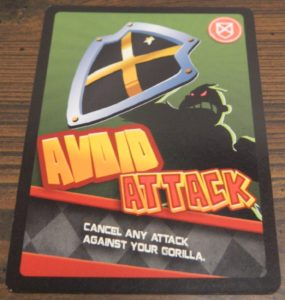 Avoid Attack Card from Banana Bandits
