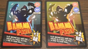 Banana Power Cards in Banana Bandits