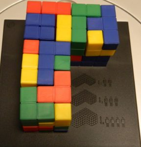 Corner Structure from Blokus 3D