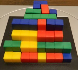 Two Player Steps Structure from Blokus 3D