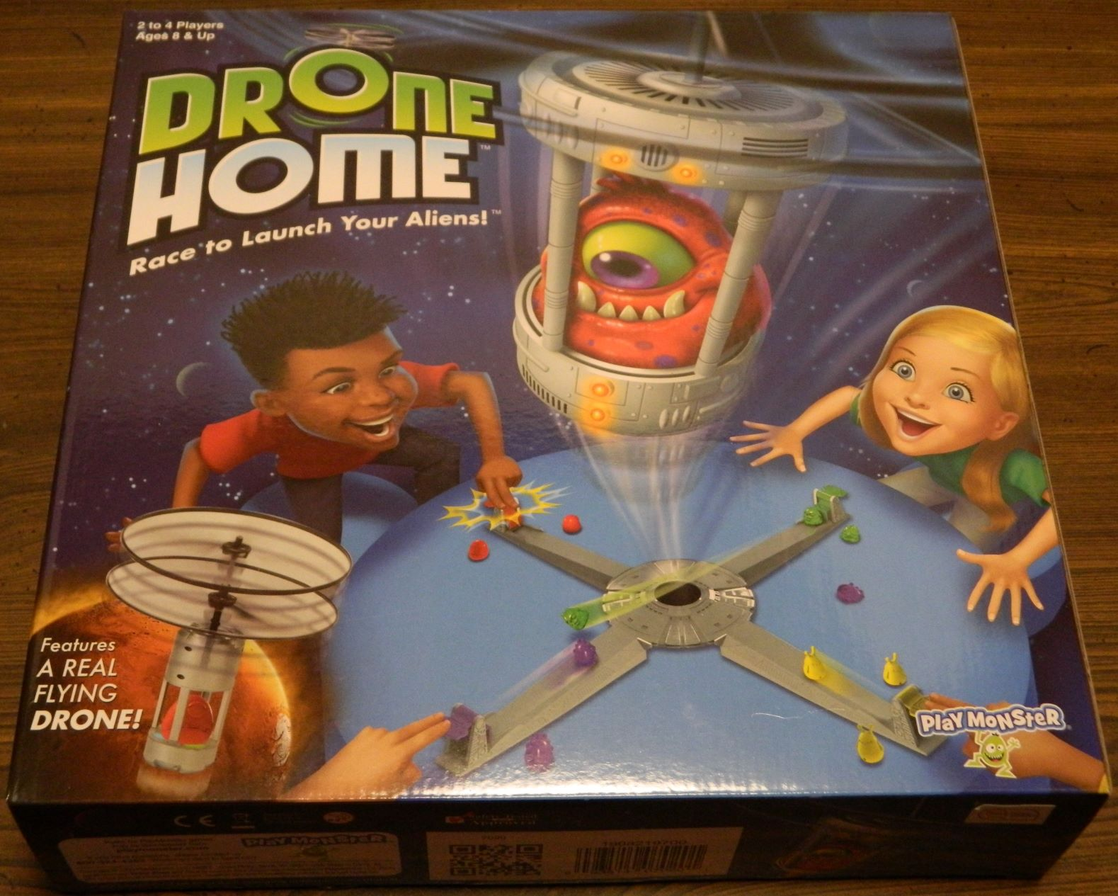 Box for Drone Home