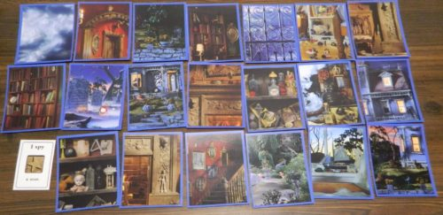 Picture Cards in I Spy Spooky Mansion