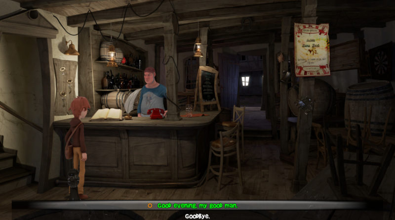 Willy Morgan and the Curse of Bone Town Screenshot
