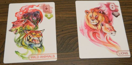 Wild Animal Card in Zooscape