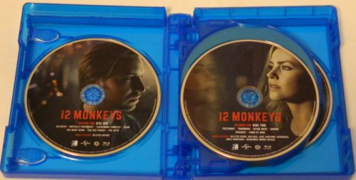 12 Monkeys The Complete Series Blu-ray Packaging