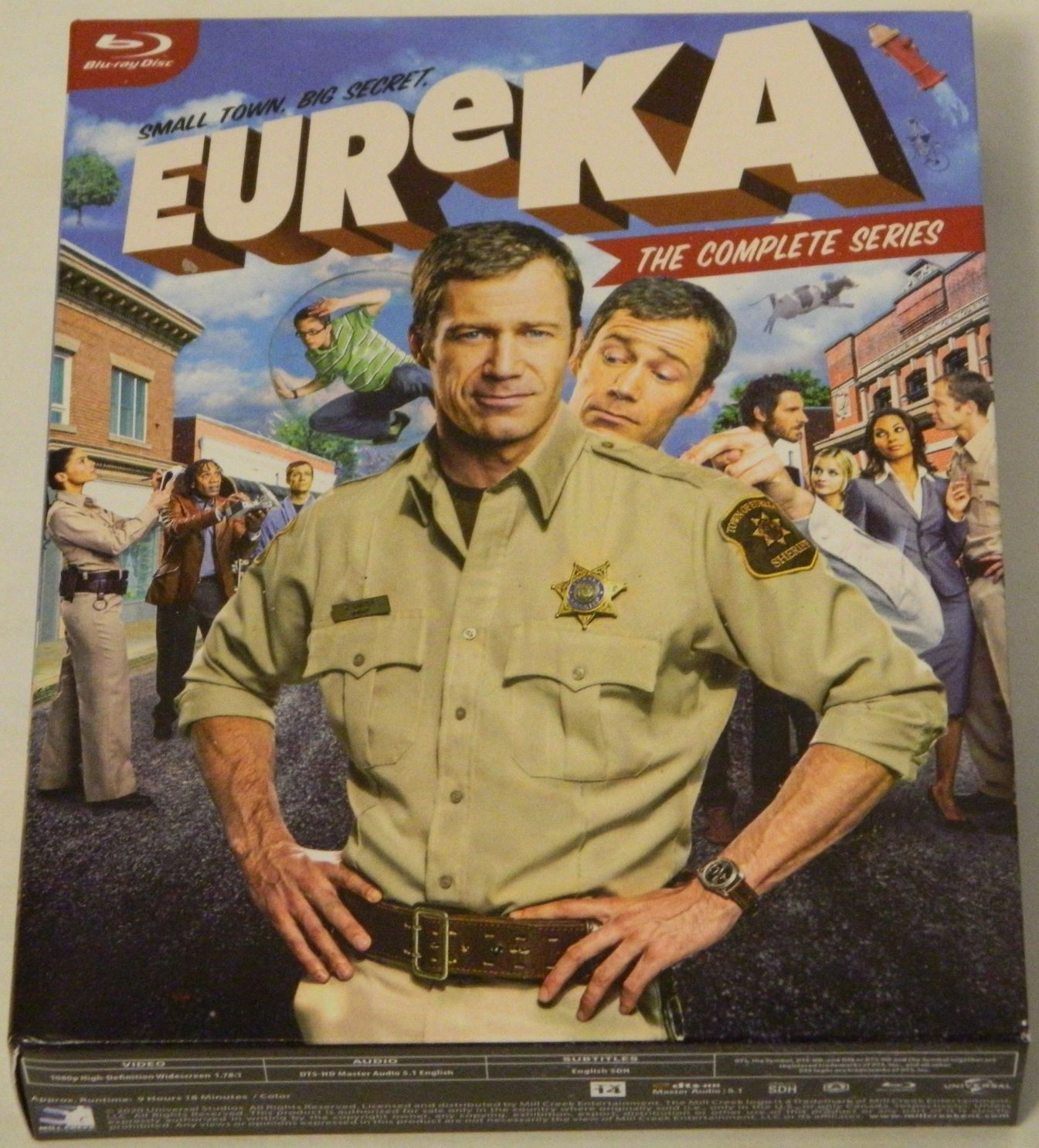 Eureka The Complete Series Blu-ray