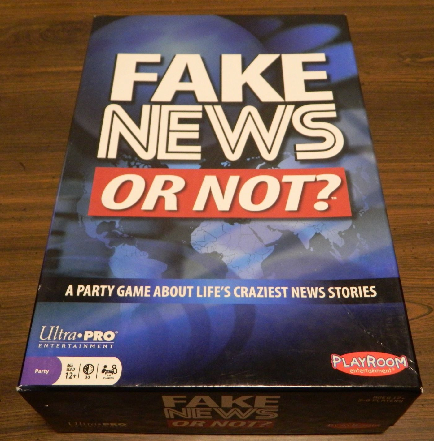 Box for Fake News or Not?