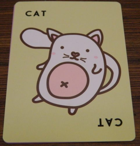 Cat Card from Taco Cat Goat Cheese Pizza