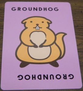 Groundhog Card in Taco Cat Goat Cheese Pizza