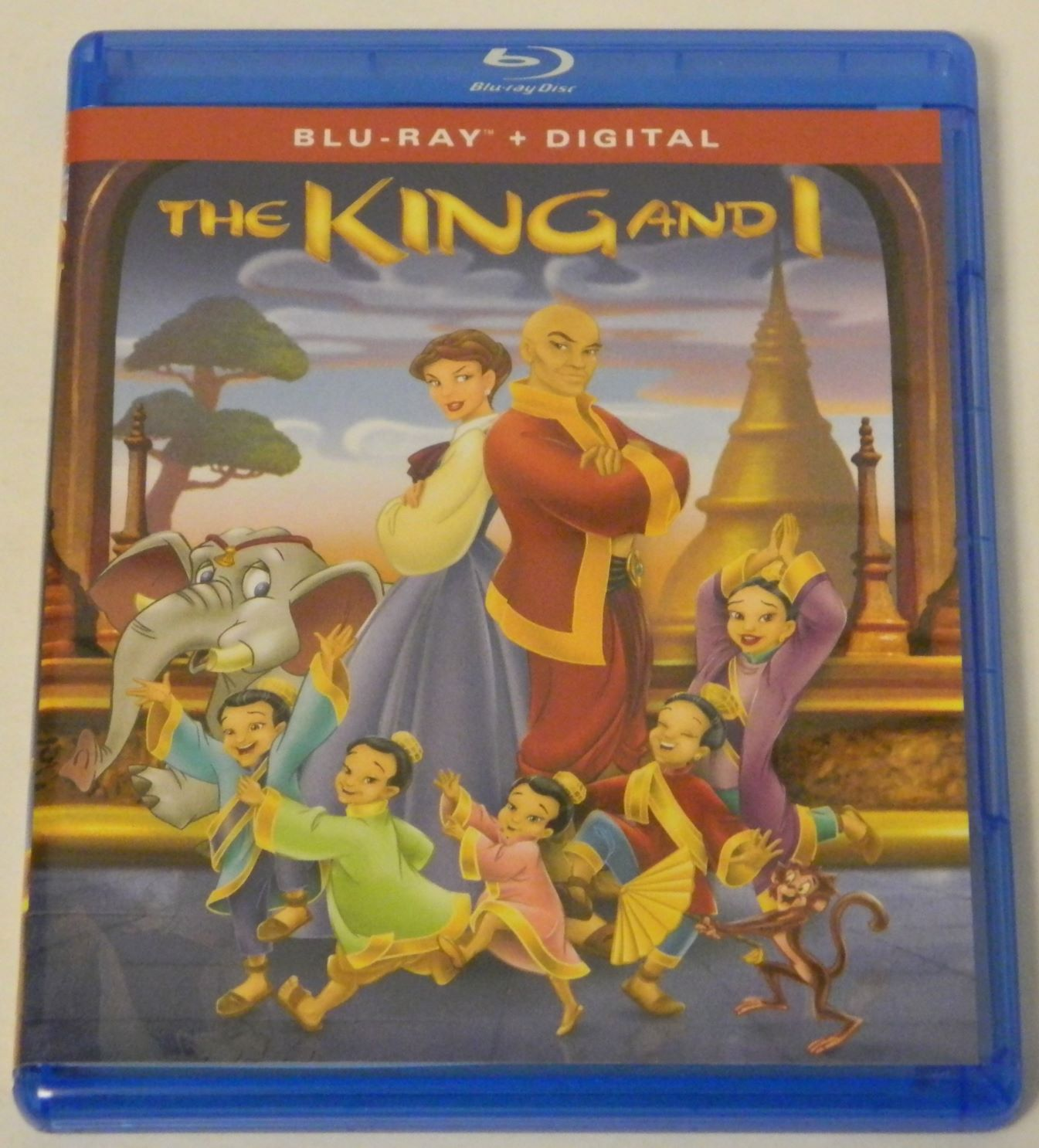 Blu-ray for The King and I