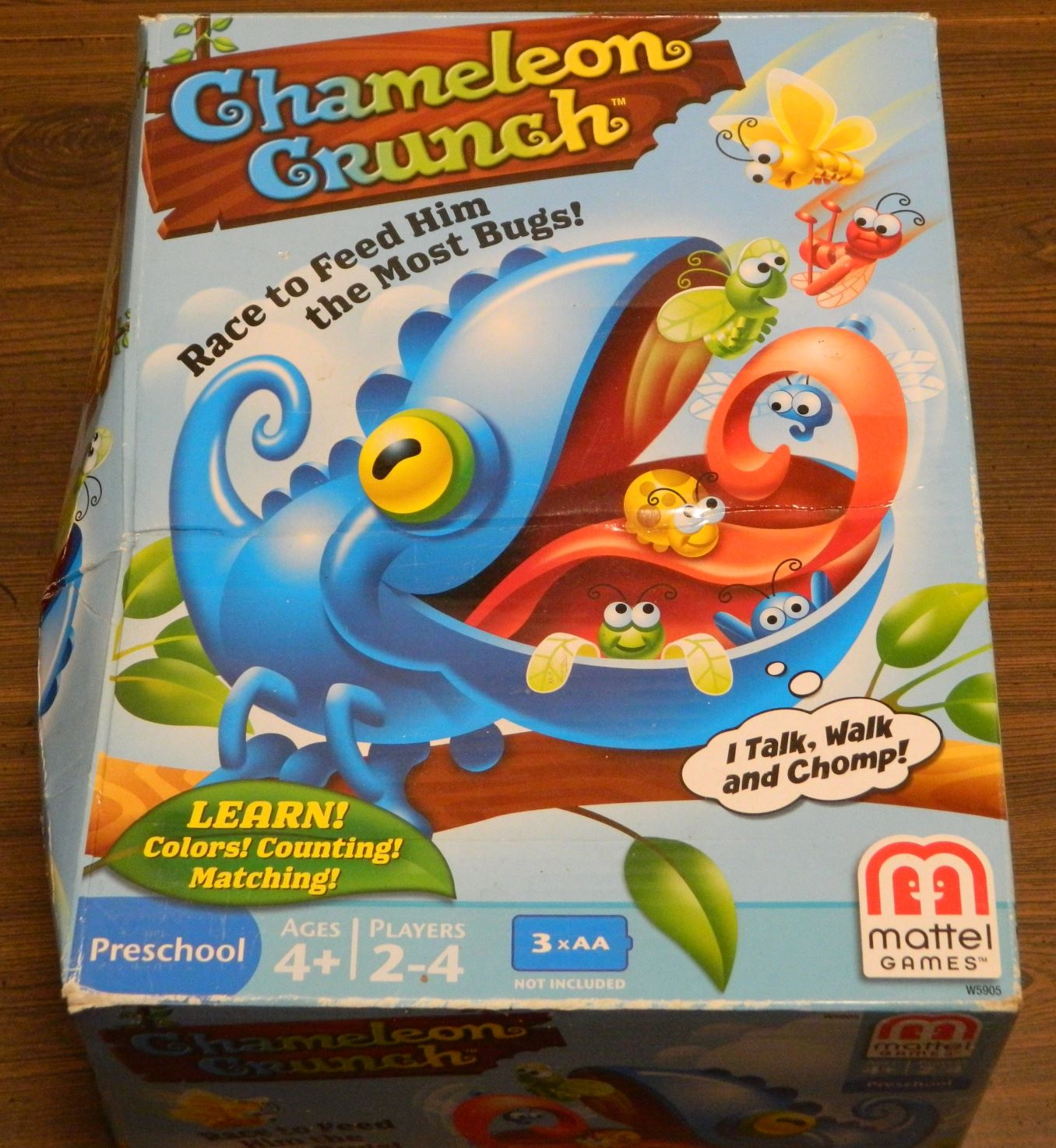 Box for Chameleon Crunch