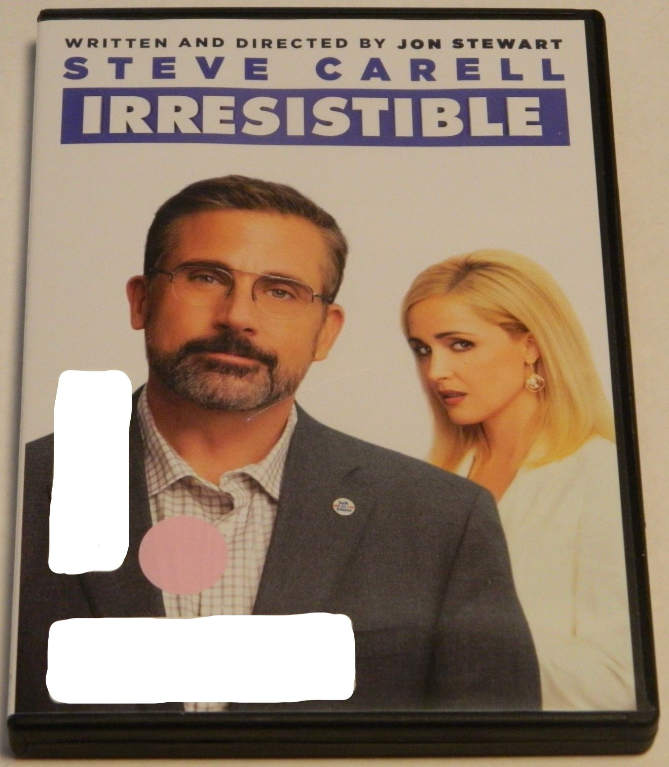 Irresistible DVD Case