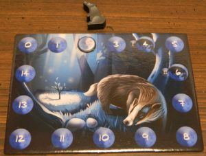 Badger in Photosynthesis: Under the Moonlight