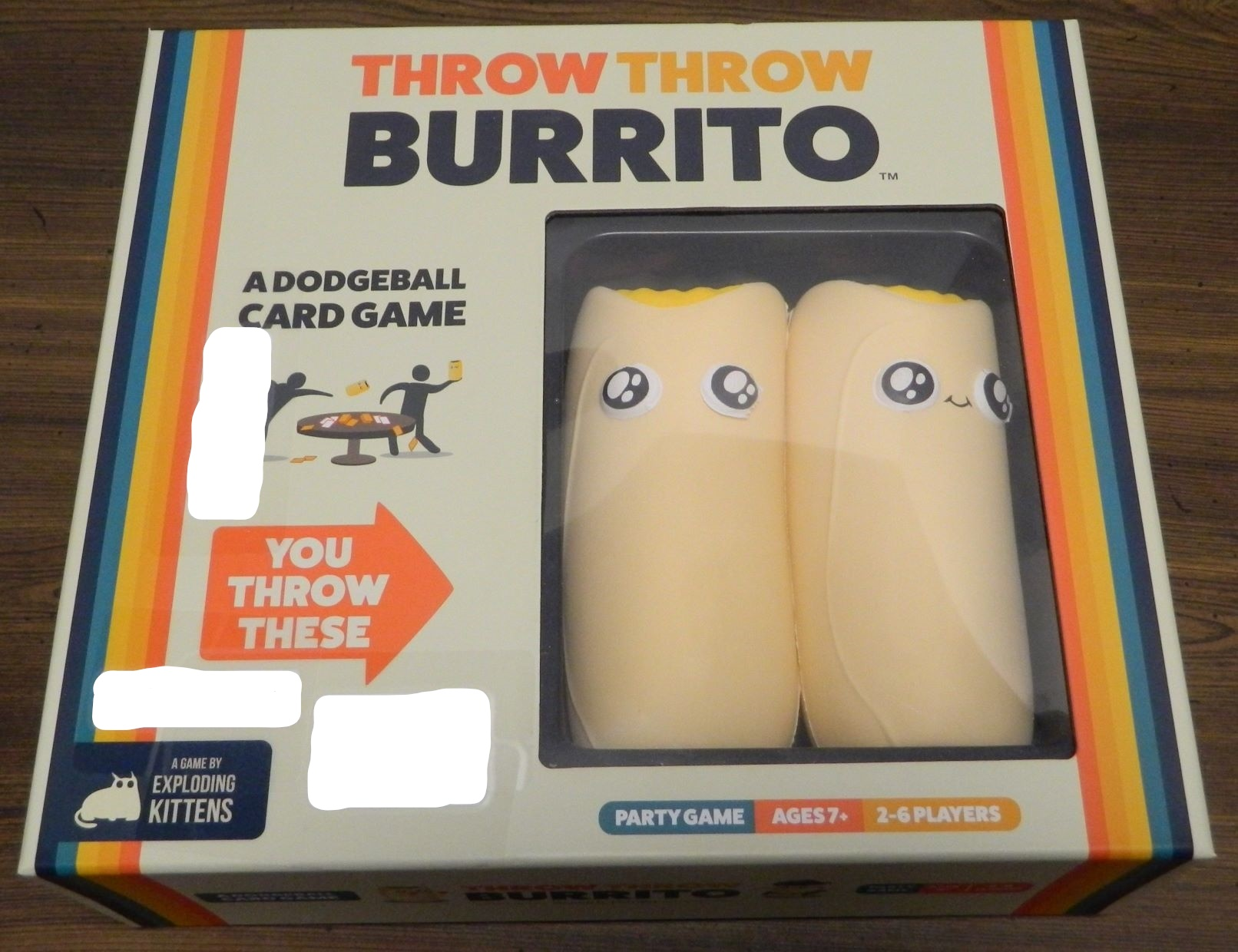 Throw Throw Burrito Box