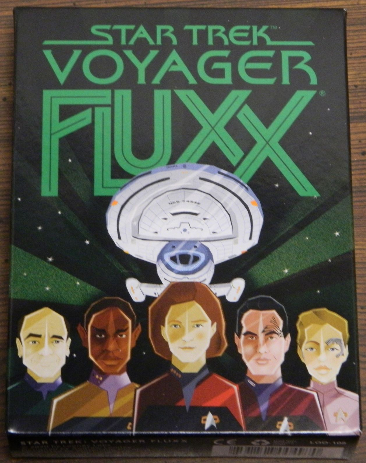 Box for Star Trek: Voyager Fluxx