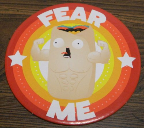 Fear Me Badge from Throw Throw Burrito
