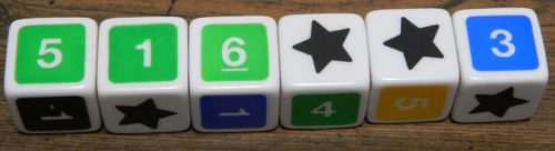 Wild Dice in UNO Dice Game Roll and Write