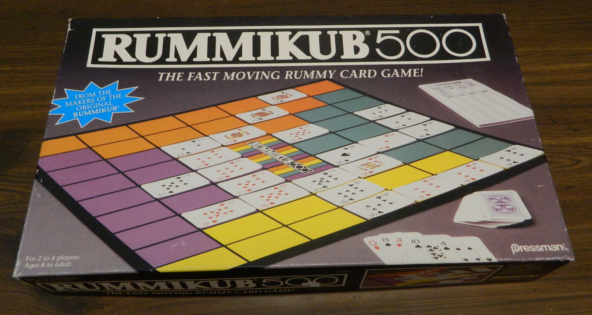 Box for Rummikub 500