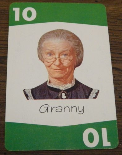 Card from Set Back: The Beverly Hillbillies Card Game