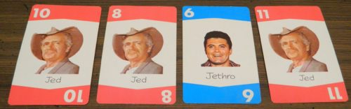Playing Cards in Set Back: The Beverly Hillbillies Card Game