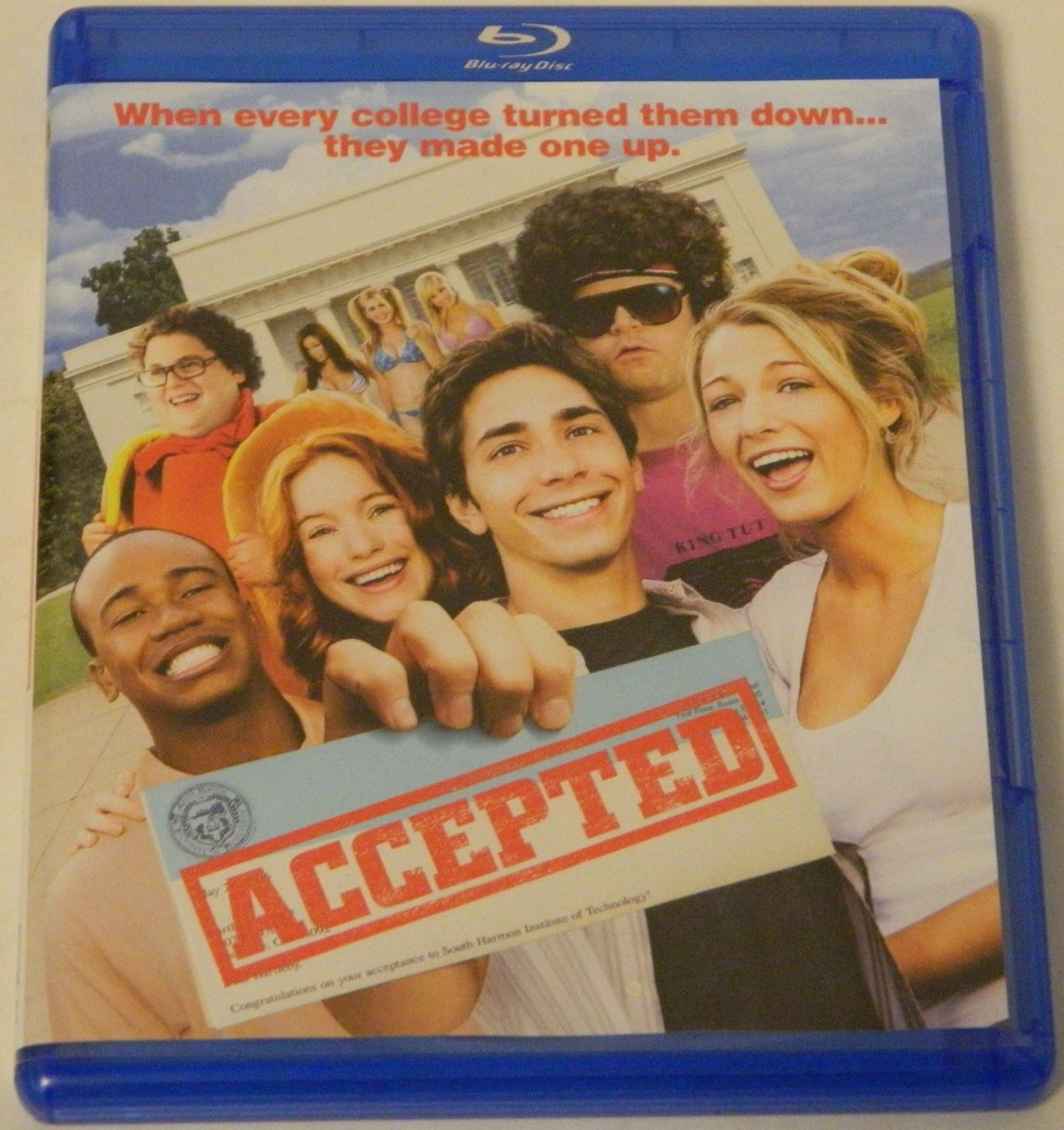 Accepted Blu-ray