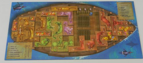 Player Board in Isle of Cats