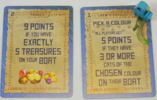 Lesson Cards in Isle of Cats