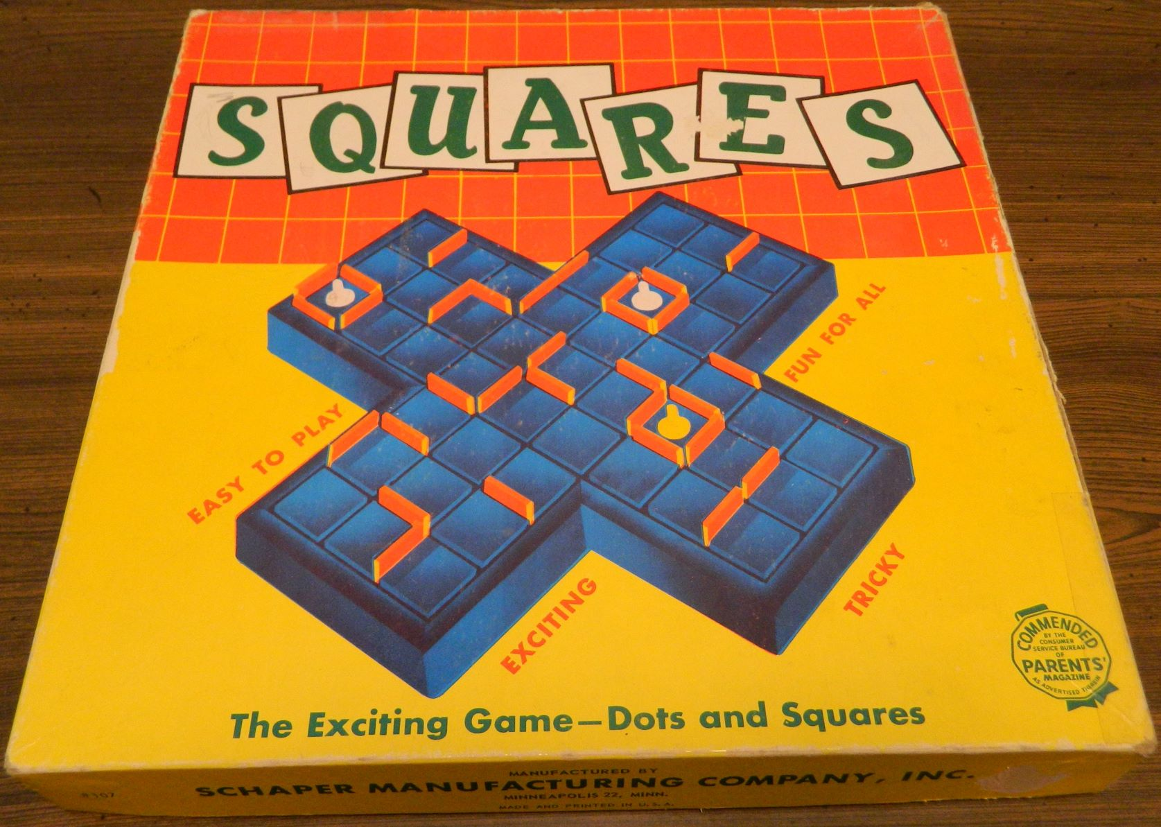 Box for The Game of Squares