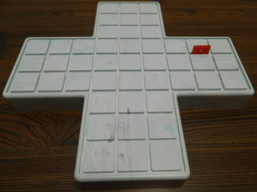 Placing a Wall in The Game of Squares