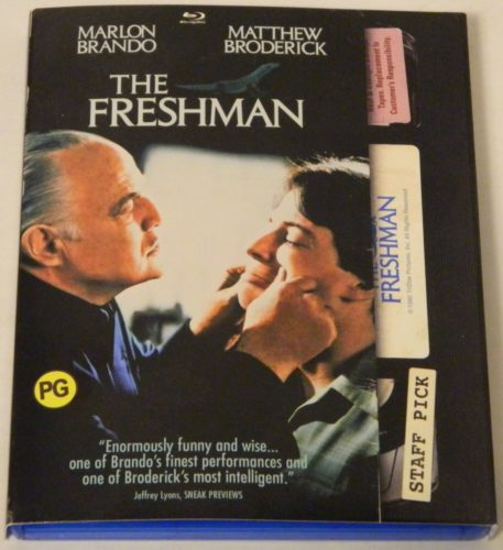 The Freshman Blu-ray