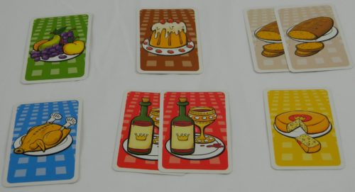 Available Cards in King's Buffet