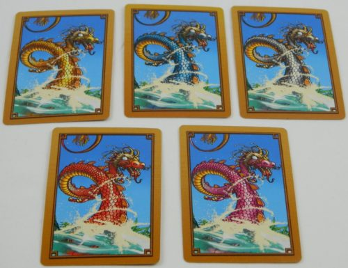 Dragon Cards in River Dragons