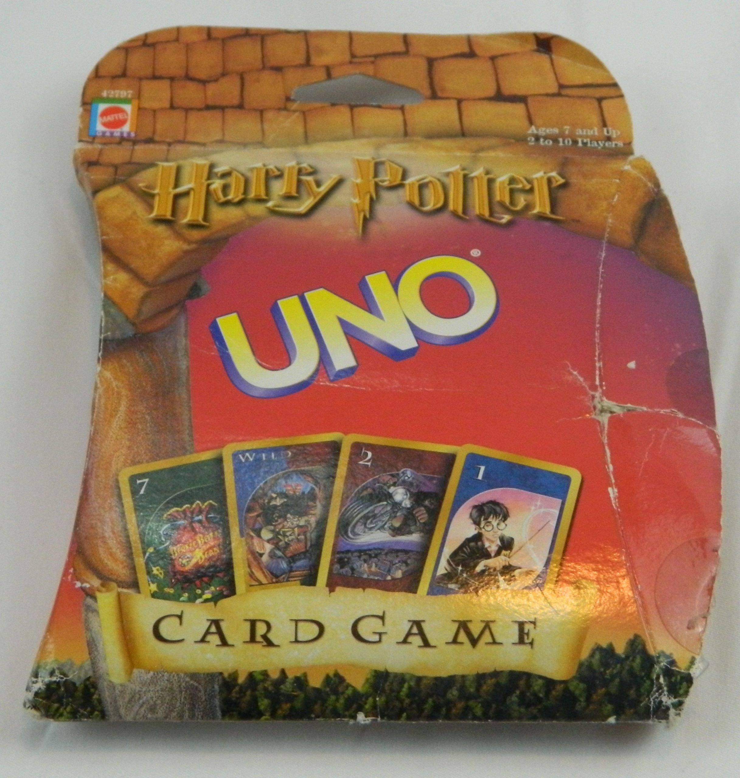 Box for UNO Harry Potter