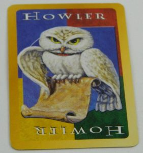 Howler Card from UNO Harry Potter