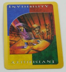 Invisibility Wild Card in UNO Harry Potter
