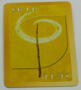 Skip Card from UNO Harry Potter