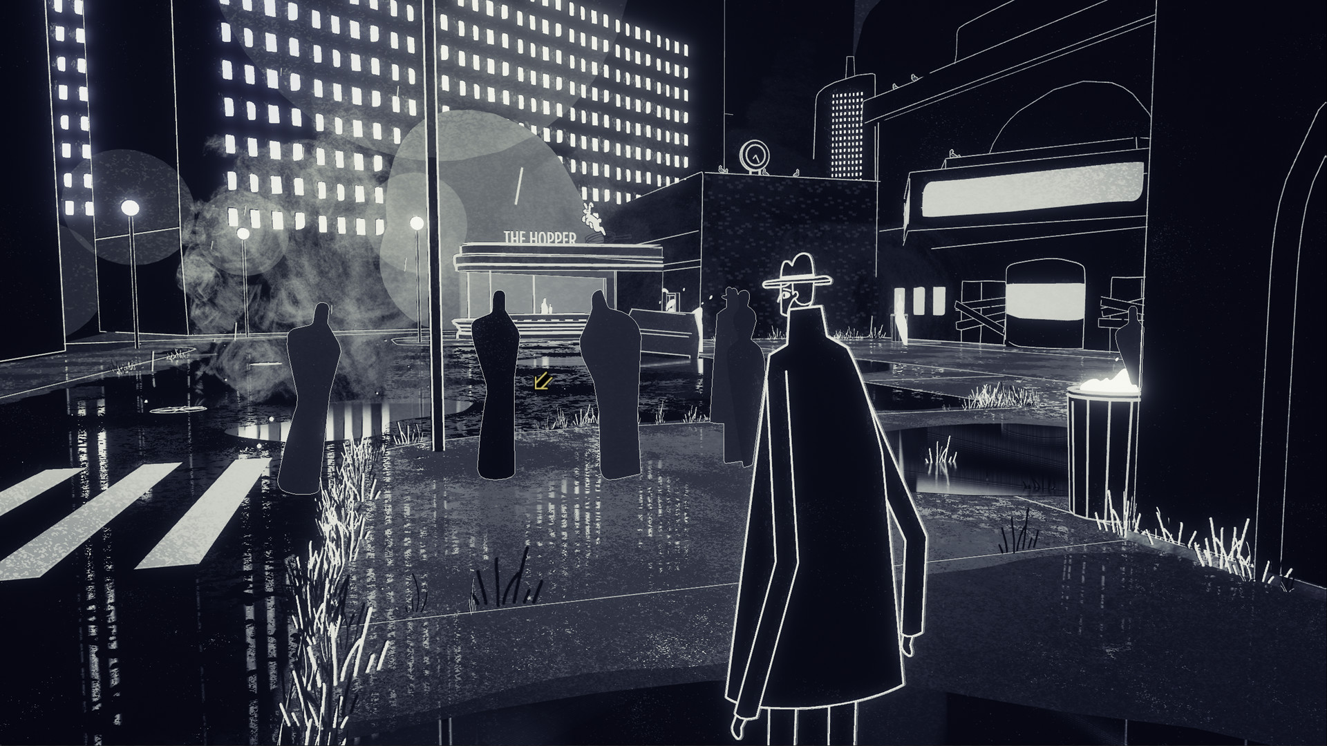 Genesis Noir Screenshot