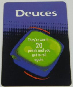 Deuces Card from Risk 'n' Roll 2000