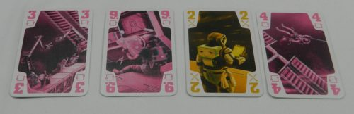 Played Cards in The Crew The Quest for Planet Nine