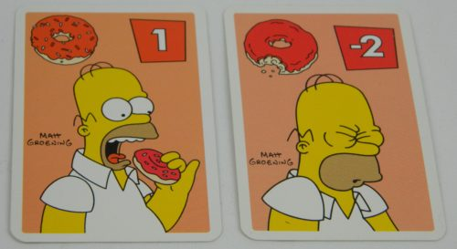 Sure Thing Cards in The Simpsons Slam Dunk