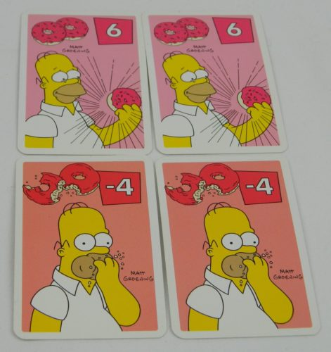 Double or Nothing Cards in The Simpsons Slam Dunk