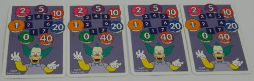 Jackpot Cards in The Simpsons Slam Dunk
