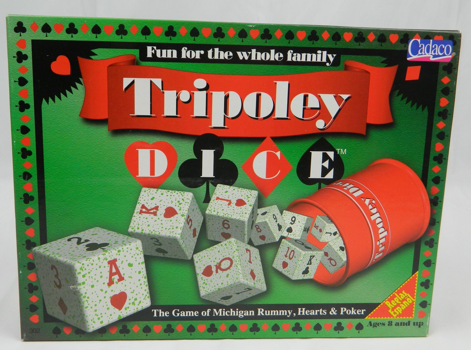Box for Tripoley Dice