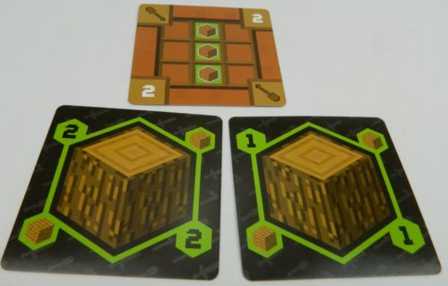 Craft Tool in Minecraft Card Game