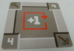 Pickaxe in Minecraft Card