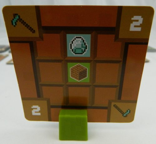 Reserve Card in Minecraft Card Game