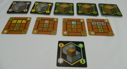 Choose Card in Minecraft Card Game