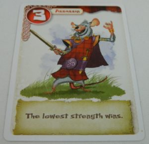 Assassin Card from Brave Rats