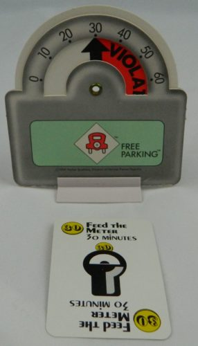 Feed the Meter Card in Free Parking