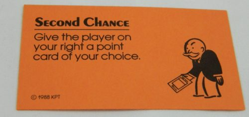 Second Chance Card in Free Parking